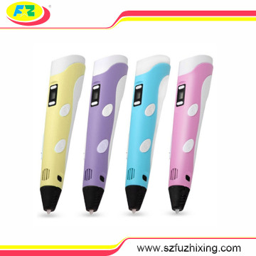 Die 2. Generation 3D-Zeichnung Druck Stift mit ABS/PLA Filament Material