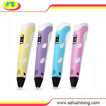 A 2ª geração desenho 3D impressão caneta com Material do filamento ABS/PLA