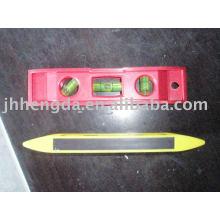 Ручной инструмент пластиковый спиртовой уровень