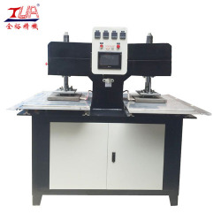 Embossed pattern making machine