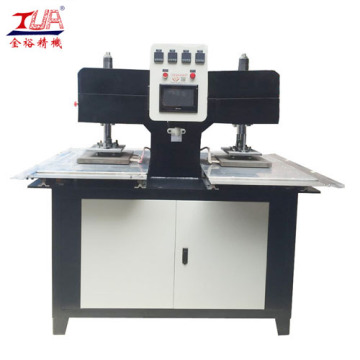 Two Heads Auto Leather Labels Embossed Machine