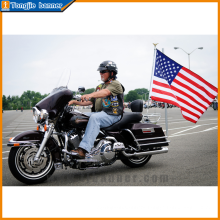 Hot sale advertising motorcycle flags for wholesale