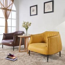 Скандинавском стиле кафе прием кожаное кресло