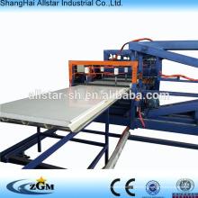 máquina de forma de rollo de panel para tablero de aislamiento de emparedado del EPS