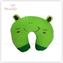 Grünes Haustier Cartoon Nackenkissen Kissen