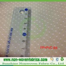 Tissu non-tissé de tissu antidérapant de Spunbond de pp