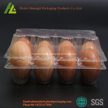 Материал ПЭТ прозрачный устранимый пластичный поднос яичка