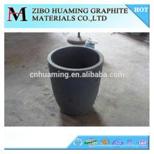 China fábrica de alta densidade de grafite cadinho para derreter
