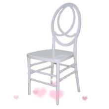 vita phoenix stol för bröllop hyra