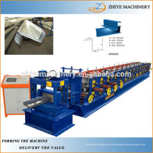 Estructura de metal c / z / u rodillo de purlin que forma la máquina para hacer la forma c / z / u