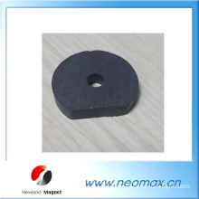 Magnet ferrite with hole customized