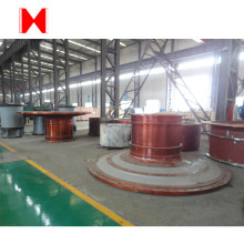 Cement ball mill end cover