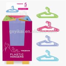 Venda quente forte cabide de roupas grossas de plástico