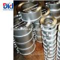 Klempnerarbeits-Ball 4-Zoll-Aufzugs-Edelstahl-Doppelplatten-Oblate-Rückschlagventil-Funktion