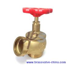Casting brass fire hose hydrant valve L102