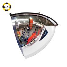 Espelho de abóbada de quarto anti-roubo de 90 graus usado para a loja