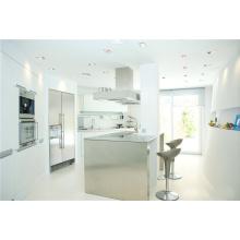 Cabines de móveis exclusivos de cozinha de laca branca