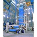 AX-1200 máquina de soplado de película de tres capas de PVA pe soplada de película de PVA máquina de extrusión de pellets de plástico / extrusora de gránulos