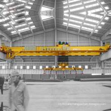 double girder magnet overhead crane