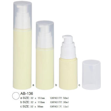 Bouteille de lotion Airless AB-136