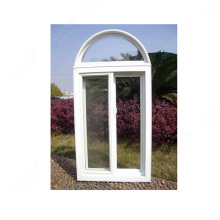 arched pvc window