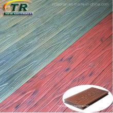 Composto plástico de madeira Decking Co-Extrusion Flooring