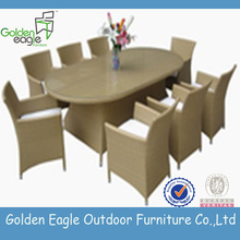 HOT Popular rattan dining set furniture