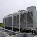 Tour ronde de refroidissement d'industrie de FRP d'eau de haute température, petit type circulaire de la bouteille 10T