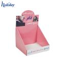 2018 caixas de exposição extravagantes por atacado do sabão de papel do projeto, caixas de exposição do contador do cartão para o sabão