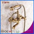 Faucet antigo do misturador do chuveiro do banho do telefone do bronze de Fyeer para fixado na parede