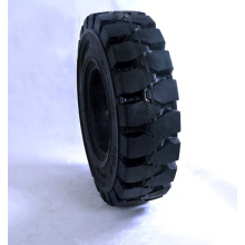 6.5-10 solid forklift tire 10 inch rubber wheel