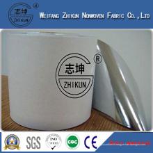 Tissu non tissé PP + PE stratifié avec film imperméable à l'eau