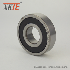 Rubber Sealed Bearing 6305 2RS C4 For Roller Conveyor