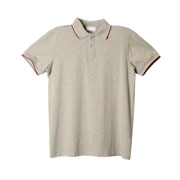 Мужская рубашка-поло с коротким рукавом