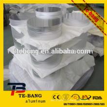 3003 Chine plaquette en laiton en aluminium