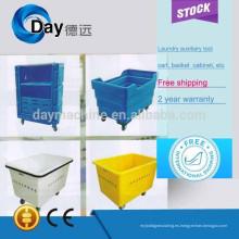 Carrito del lavadero del proveedor de China 2015, precios de la carretilla plástica de la fibra de vidrio durable, carretilla barata del acero inoxidable