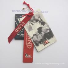 Etiqueta de la caída del papel, etiqueta del precio, etiqueta de papel Para las prendas de vestir de la manera