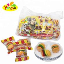 Fast Food Series Hamburger Shape Soft Gummy Candy