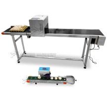 High speed egg labeling inkjet printer machine/egg printing machine/logo printer on eggs