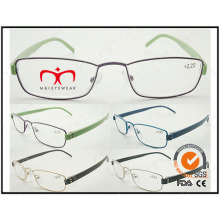 Hot Selling Colorful Tr90 Temples Metal Optical Frames (WRM503020)