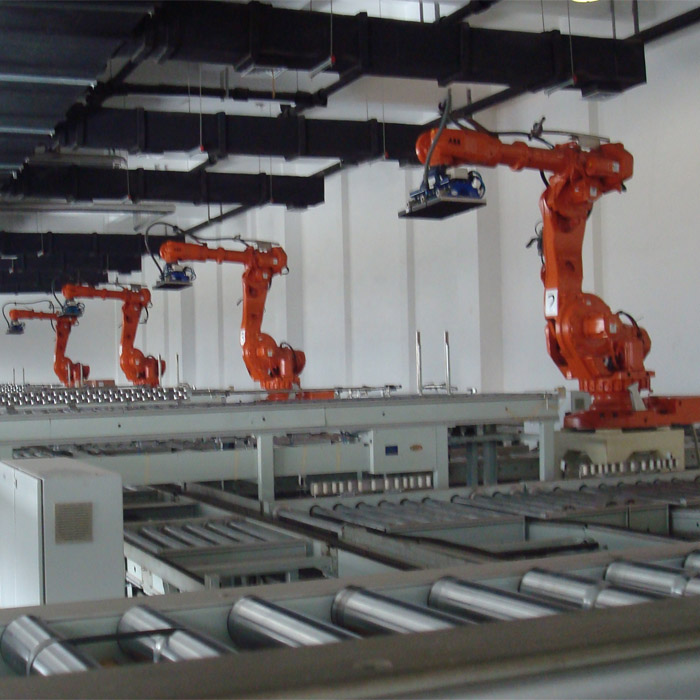 Industrial Robotic Palletizer