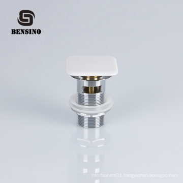 Ceramic cap basin waste for bathroom