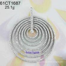 Pendant CZ Silver Jewelry (61CT1507)