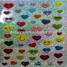 лазерная стикер мультфильм для сердца