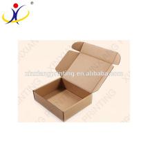 ¡Logotipo de encargo! Caja profesional de papel del arte del fabricante de China, caja de papel de Kraft marrón