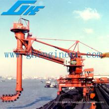 Descarregador de navio móvel de alta eficiência