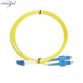 LC mode unique LSZH veste 5 étapes poli connecteur fibre optique cordon de raccordement