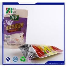 Farbe Steh auf Plastikbeutel mit Ausguss