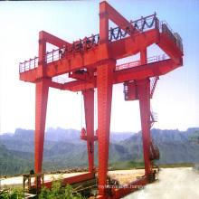 guindaste de pórtico de viga dupla de 50 toneladas