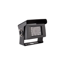 Parking Main Dual Dash Mirror System With Mini Front And 8 Led Car Backup Rear View Ahd Camera